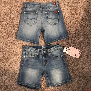 7 For All Mankind shorts - 2 pairs